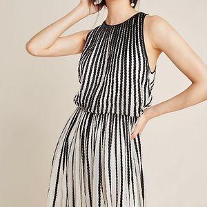 Anthropologie Geisha Designs Stitched dress.